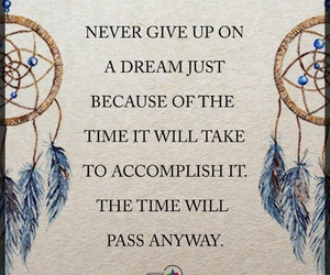 life, quote, and dreamcatcher image