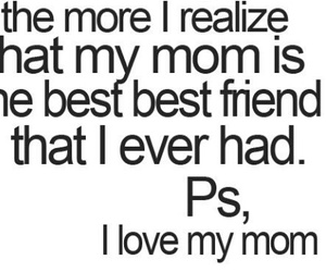 mommy and quote image