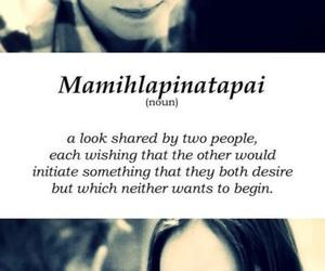 flipped and mamihlapinatapai image