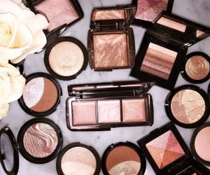 makeup, bronze, and make up image
