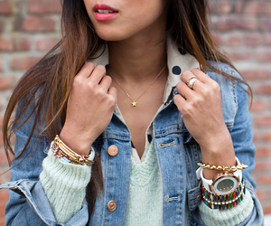 accessories, collar, and denim image