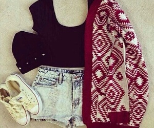 accesories, jeans, and converse image