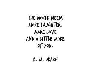 you, love, and r.m. drake image