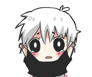 chibi, cute, and kaneki image