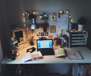 study, room, and desk image