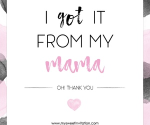 flower, gift, and mom image
