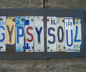 gypsy, gypsy soul, and hippie image