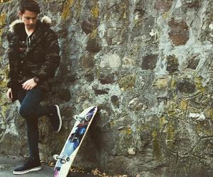 boy, hungary, and skateboard image