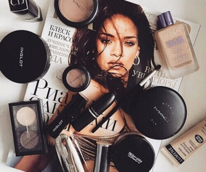 makeup, rihanna, and mac image