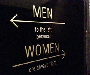 men, women, and always right image