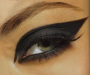 make up, eyes, and eye image