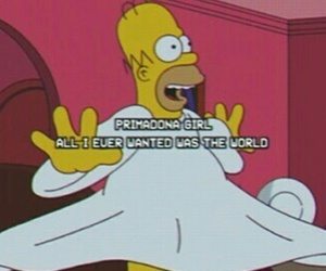 simpsons and tumblr image