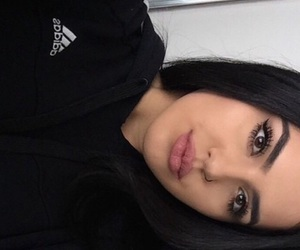 adidas, beauty, and black and white image