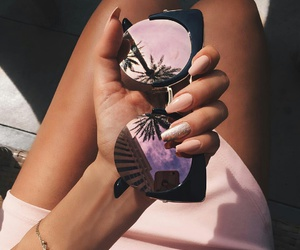 accessories, nails, and palmtree image