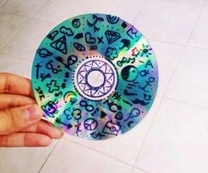 cd, art, and grunge image
