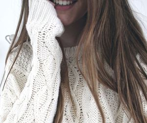 girl, sweater, and fashion image