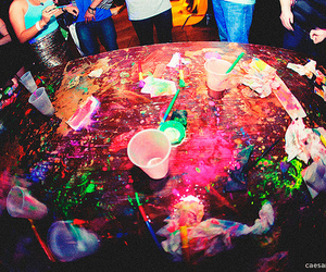 party, photography, and colors image