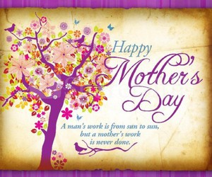 mom, happy mother's day, and mother image