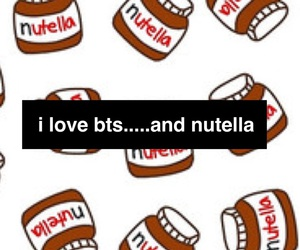 kpop, nutella, and wallpaper image