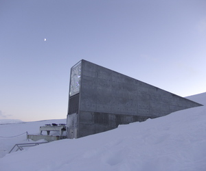 brutalism, concrete, and ice image