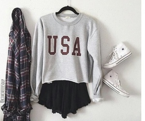 outfit, fashion, and usa image