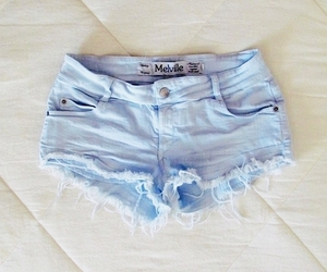 shorts, fashion, and blue image
