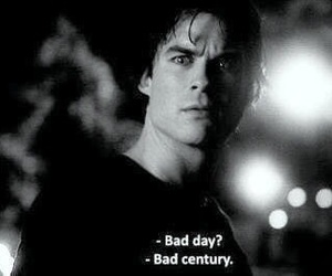 damon, the vampire diaries, and damon salvatore image