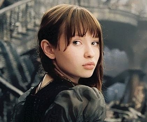 actress, bangs, and baudelaire image