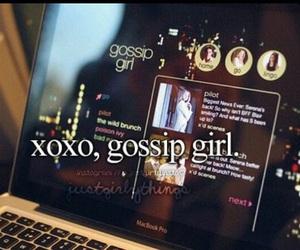 gossip girl, xoxo, and gg image
