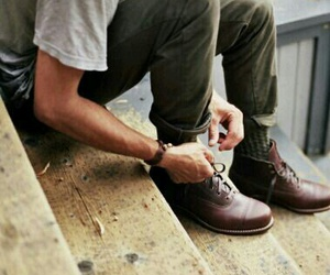 shoes, boy, and man image
