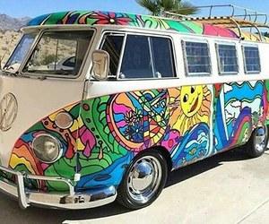 art, hippie, and retro image