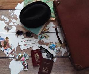 adventure, passport, and wanderlust image