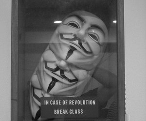 revolution, mask, and v for vendetta image