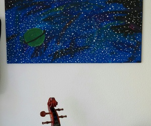 art, cello, and music image