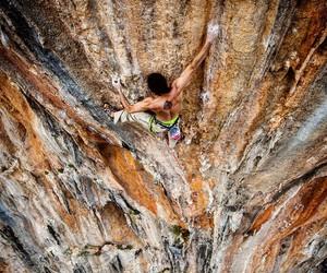 free climbing image