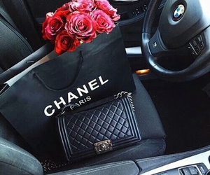 bmw, chanel, and flower image