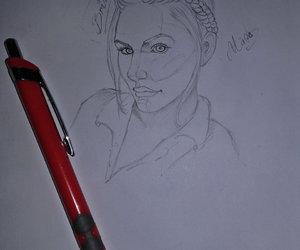 art, drawing, and briana image