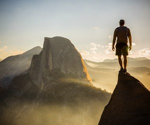 adventure, view, and beautiful image
