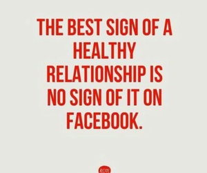 Relationship, facebook, and true image