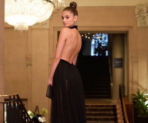 taylor hill, dress, and model image