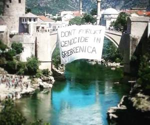 genocide, mostar, and never forget image