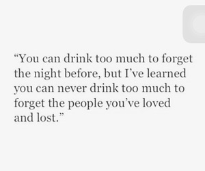 drink, quote, and love image