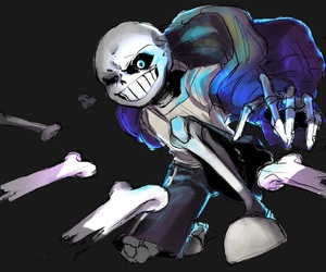 sans, spoilers, and undertale image