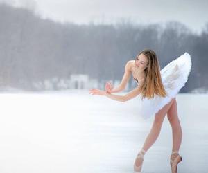 ballerina, scenery, and tutu image