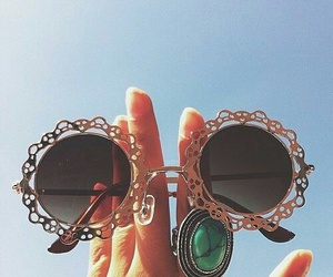 sunglasses, summer, and accessories image