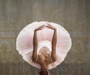 dancer, stretching, and tutu image