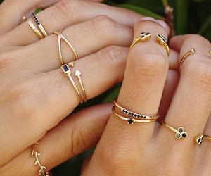 beautiful, fashion, and rings image