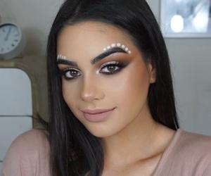 beautiful, festive, and makeup image