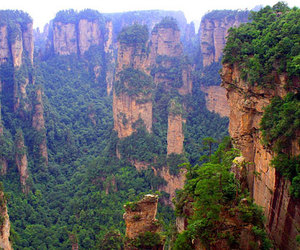 china and tianzi mountains image