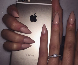 nails, iphone, and ring image